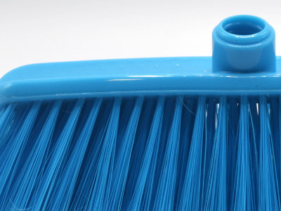 Pormenor cerdas, cepo e espanador do espanador 431D azul
