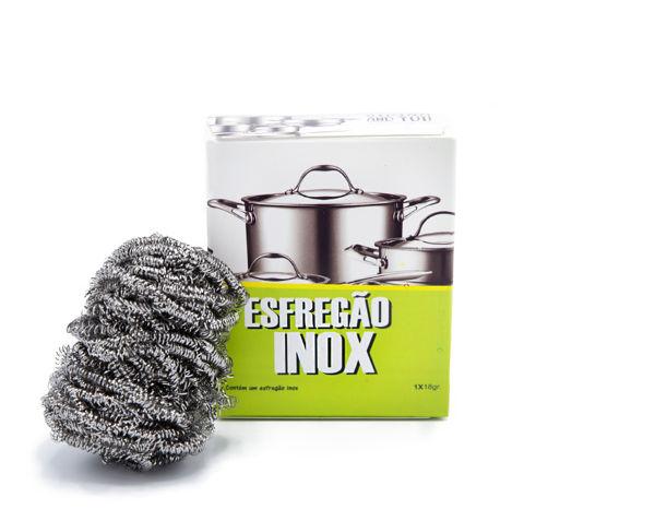 5004 | Esfregão Inox (pack de 1 uni.)