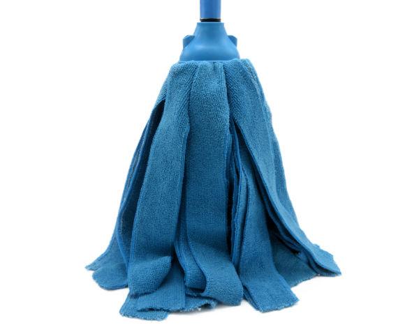 903P | Esfregona Tiras Microfibra | Azul