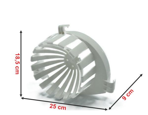 Informação dimensional do espremedor para balde rectangular 1003e