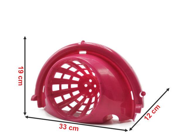 Informação dimensional do espremedor para balde redondo 1016e