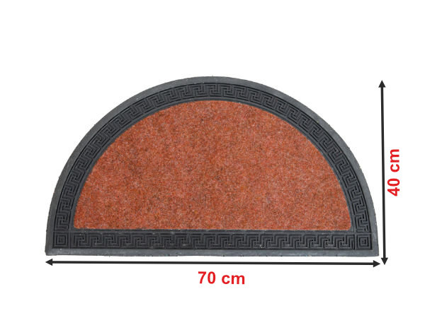Informação dimensional do tapete 114T