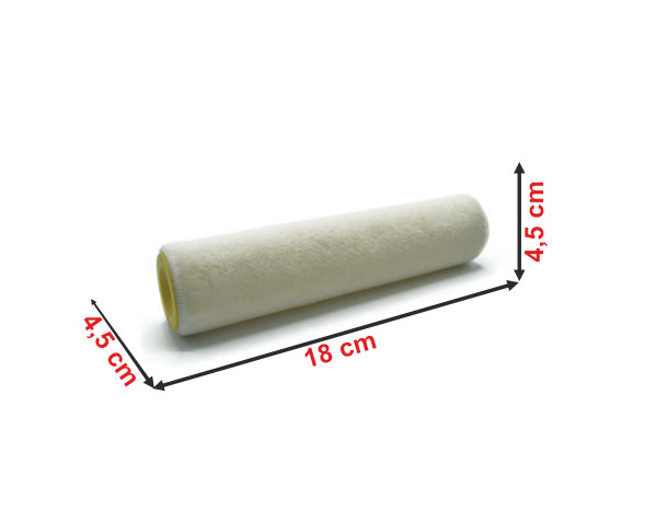 Informação dimensional da recarga de rolo de pintura CA180