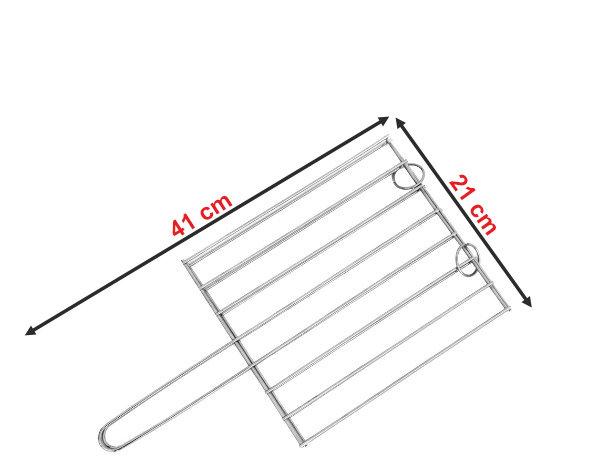 Informação dimensional da grelha GP