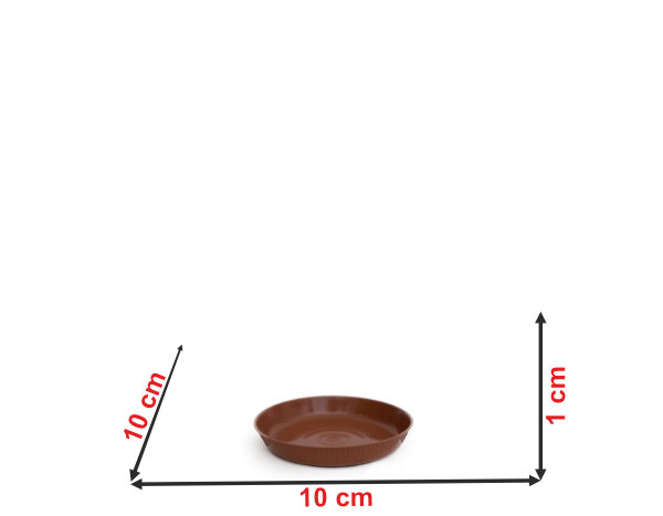 Informação dimensional do prato do vaso P2