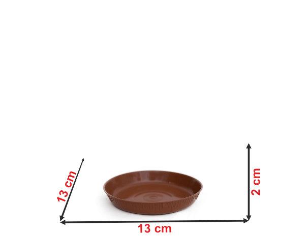 Informação dimensional do prato do vaso P4