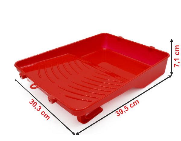 Informação dimensional do tabuleiro de pintura TG