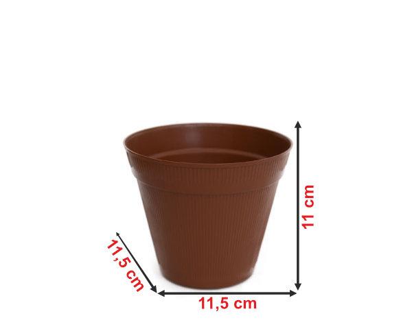 Informação dimensional do vaso V3