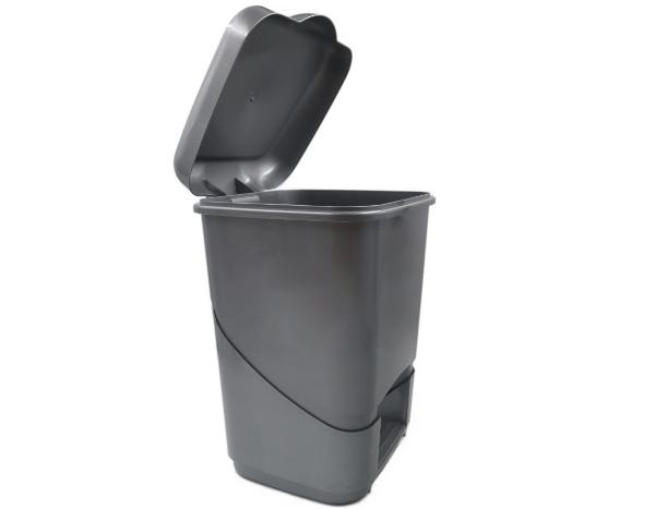 922B   Balde do Lixo c/ Pedal (20L)   Cinza